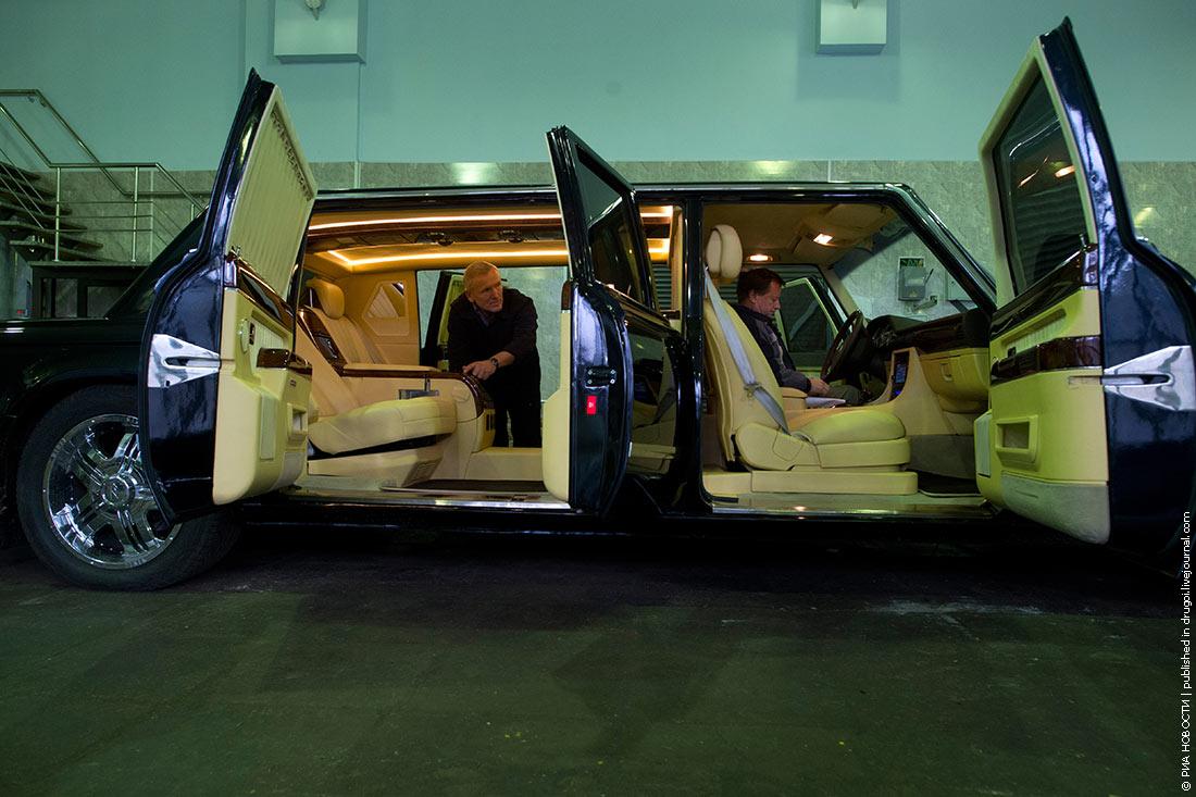 В России выставили на продажу «президентский лимузин» 2