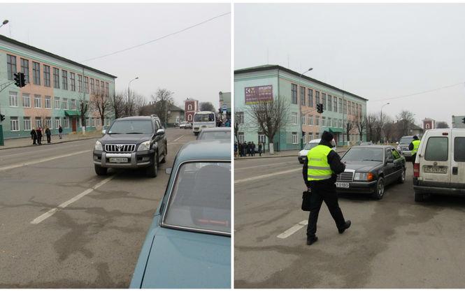 Патрульные полицейские прервали сессию депутатов из-за «нарушения ПДД» 1