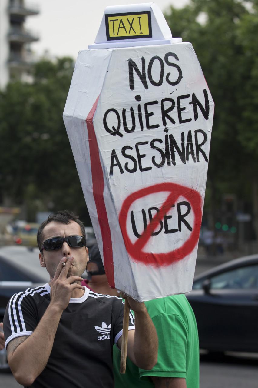 «Uber приближается»: как таксисты реагируют на появление нового сервиса 3