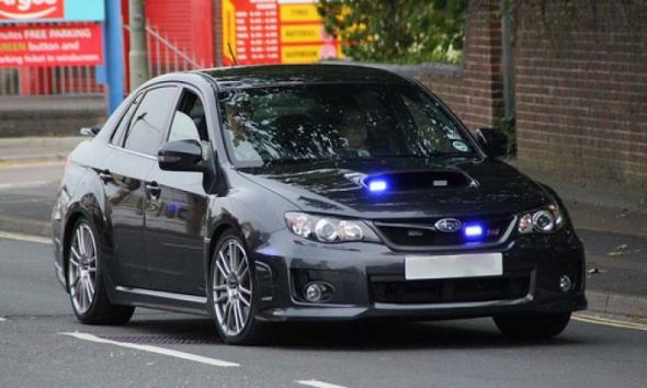 TOP-5 полицейских машин, «работающих под прикрытием» 2