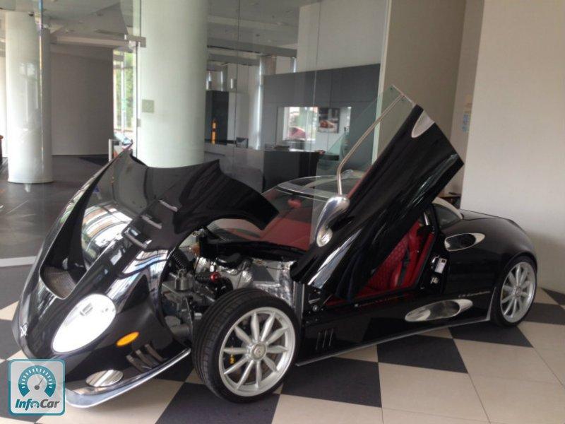 В Украине продали «уникальный Spyker» 2