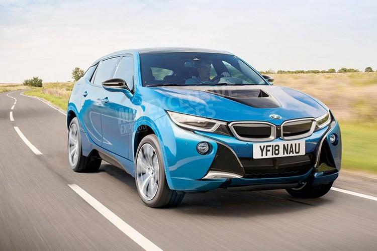 Новый BMW i5 будет кроссовером 1