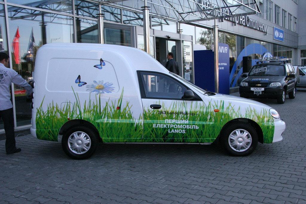 Специалисты ЗАЗ построили электромобиль «Lanos» 1