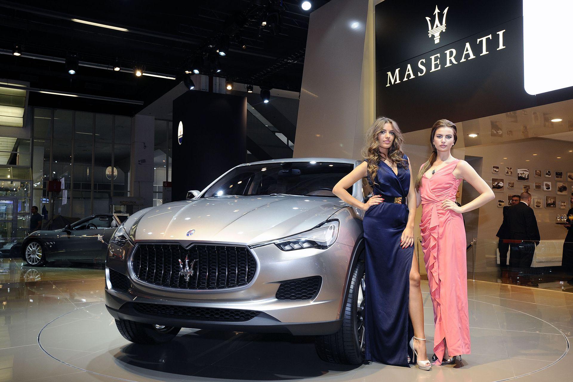 Компания Maserati презентует свой первый внедорожник 1