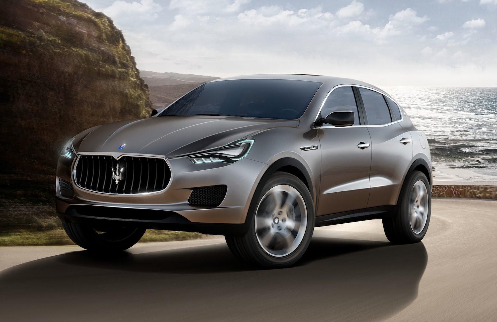 Компания Maserati презентует свой первый внедорожник 2