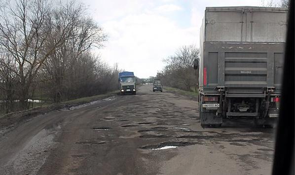 ТОП-5 худших дорог Украины 1