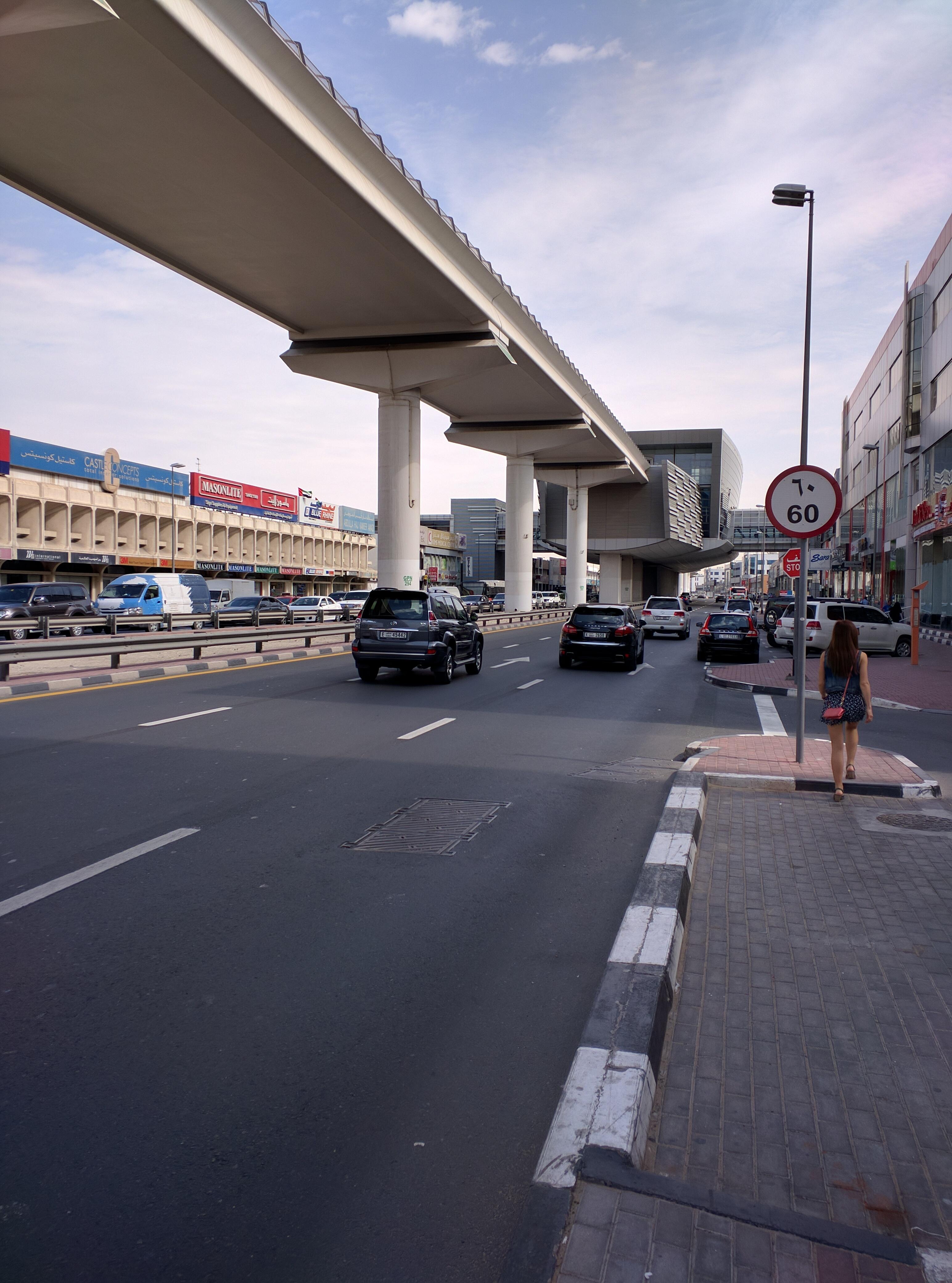 «Арабская жемчужина» или как мы удивлялись дорогам и транспорту в Дубае 2