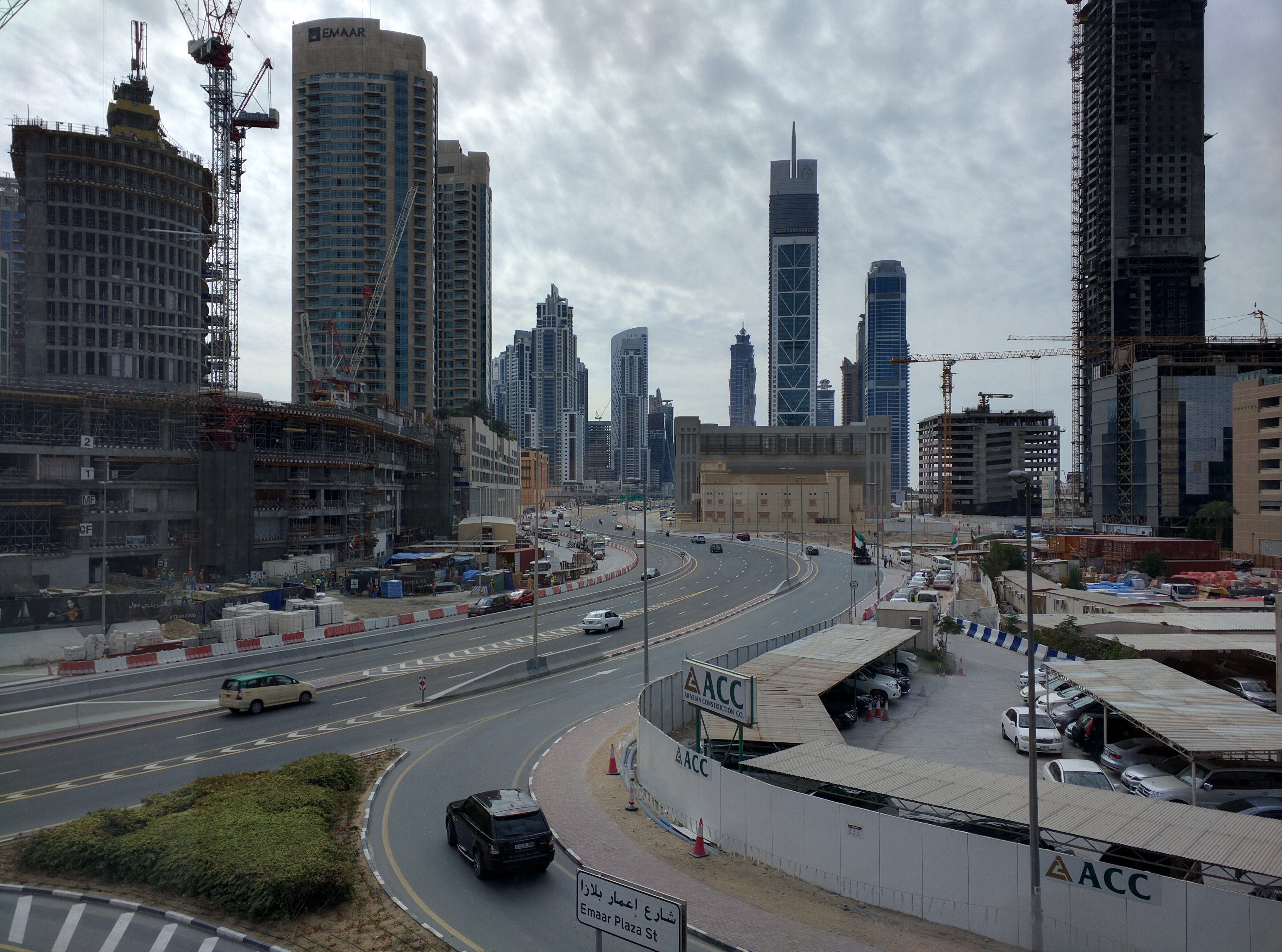 «Арабская жемчужина» или как мы удивлялись дорогам и транспорту в Дубае 3
