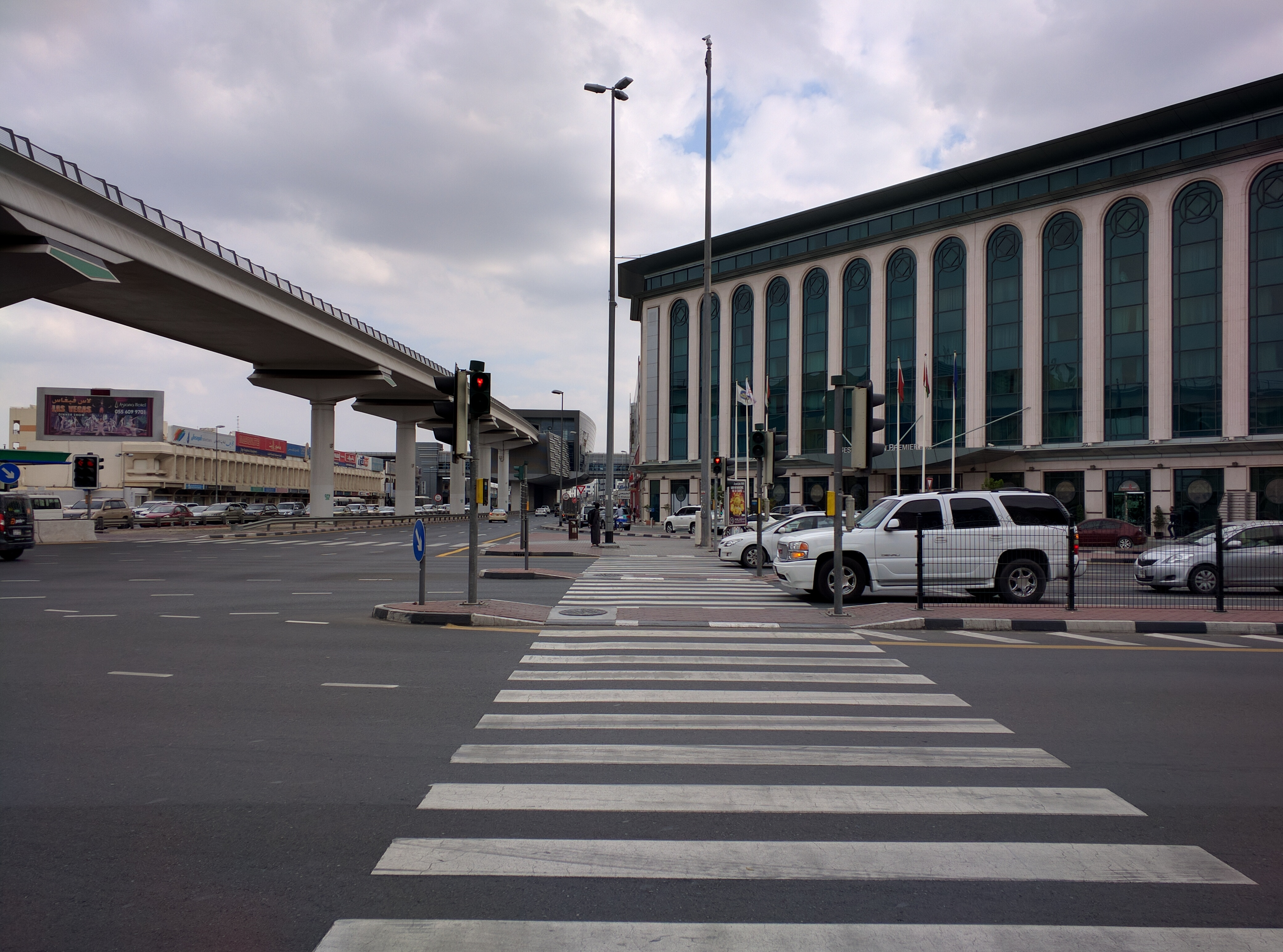 «Арабская жемчужина» или как мы удивлялись дорогам и транспорту в Дубае 4