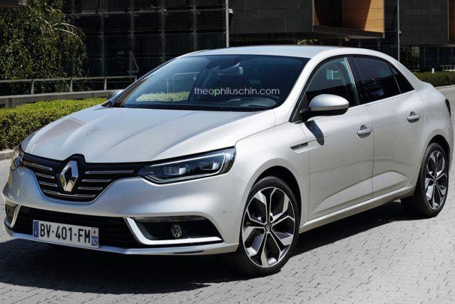 Новый яркий седан от Renault 1