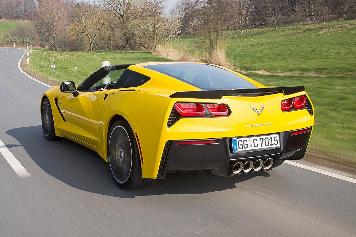 Сравнительный тест-драйв Porsche 911 Targa 4 GTS и Chevrolet Corvette Stingray 9