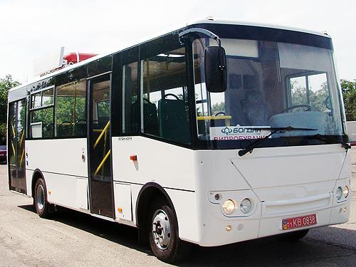 В Украине начнут выпускать кардинально новые автобусы 1