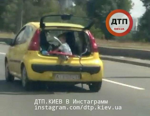 Вопиющий случай на дорогах Киева 1