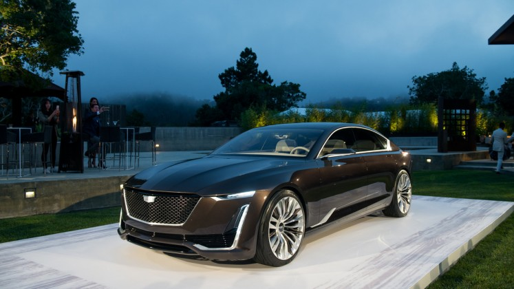 Cadillac представил новейший концепт 1