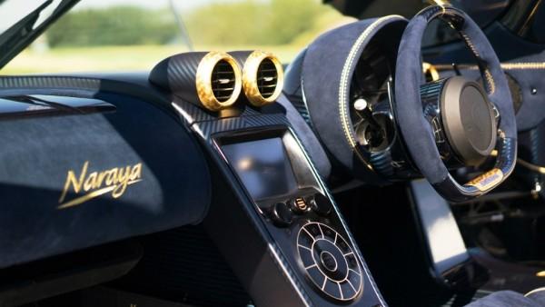 Koenigsegg выпустил суперкар Agera RS, отделанный золотом и бриллиантами 3