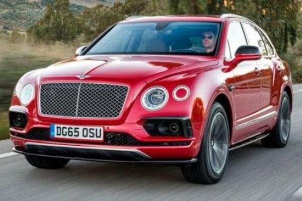 Кроссовер Bentayga станет первым Bentley с дизельным двигателем 1