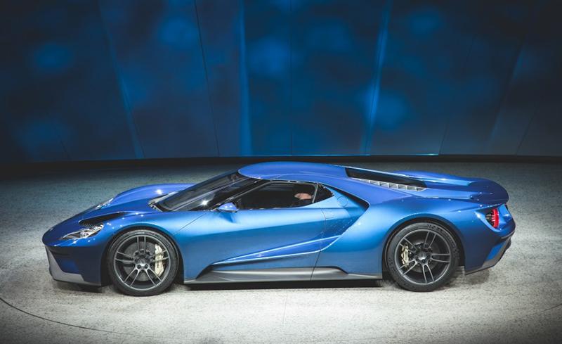Руководители Ford подарят себе первые экземпляры GT 1