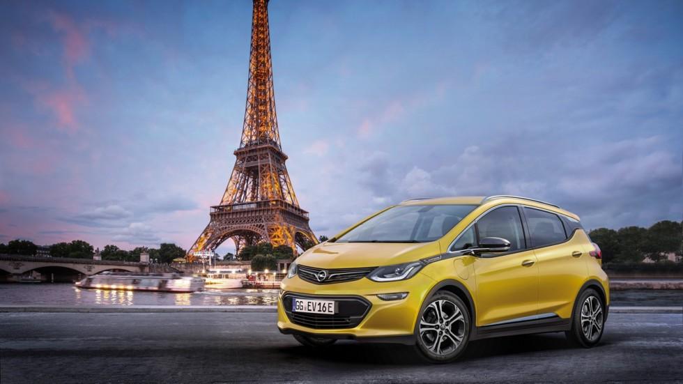 Opel готовится к презентации своего электромобиля 1