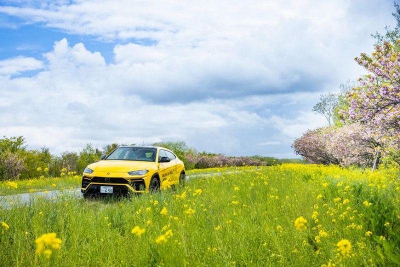 Lamborghini Urus совершил 6500-километровое путешествие по Японии 1