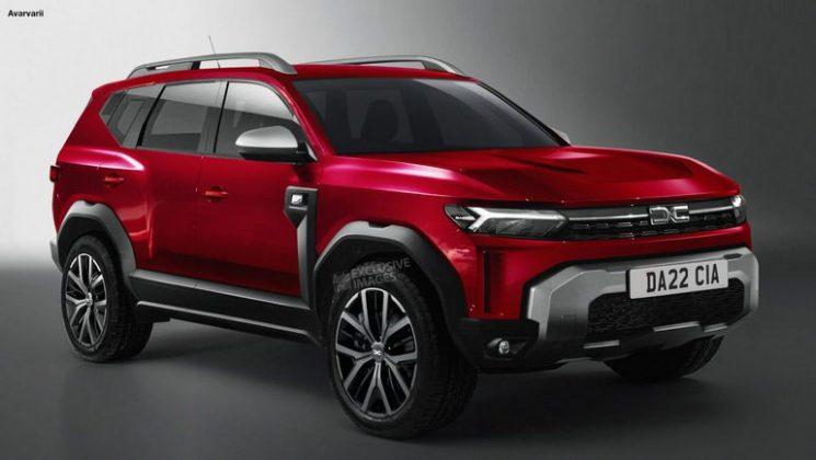 Dacia опубликовала новые изображения кроссовераBigster 1