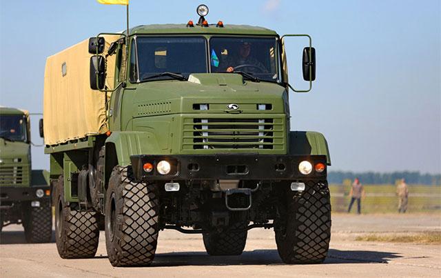 КрАЗ будет поставлять грузовую автотехнику армии США 1