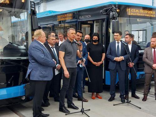 Глава Верховной Рады посетил завод «Электронмаш» 2