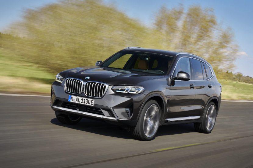 BMW представила обновленные кроссоверы BMW X3 M и X4 M 2022 года 1