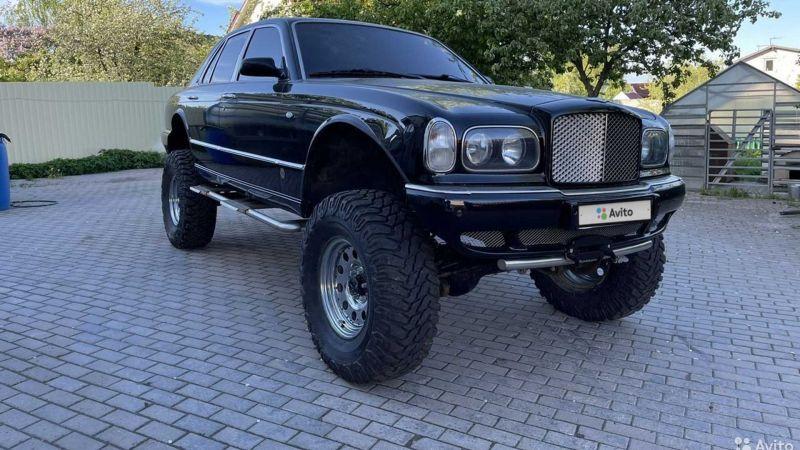 Роскошный Bentley Arnage превратили в огромный вездеход 1