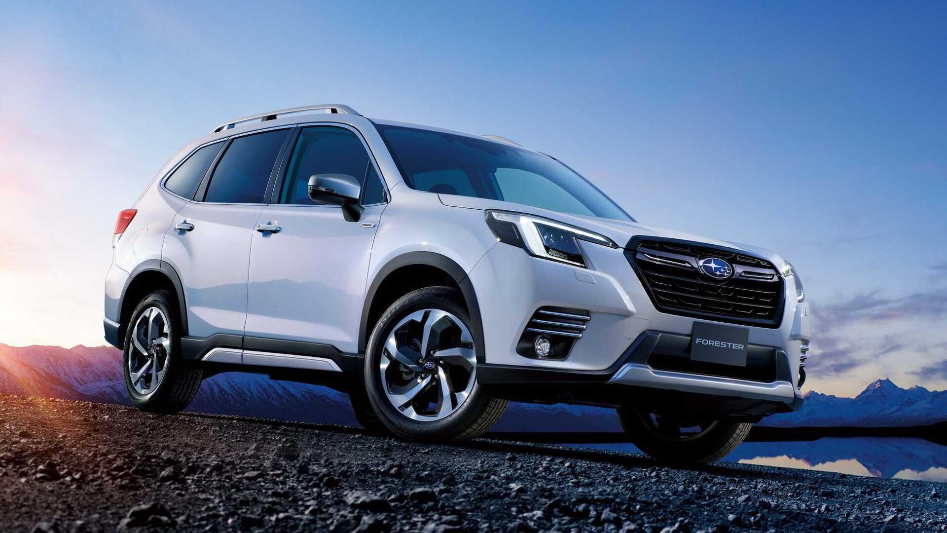Новейший Subaru Forester 2022 получил крутой дизайн 1