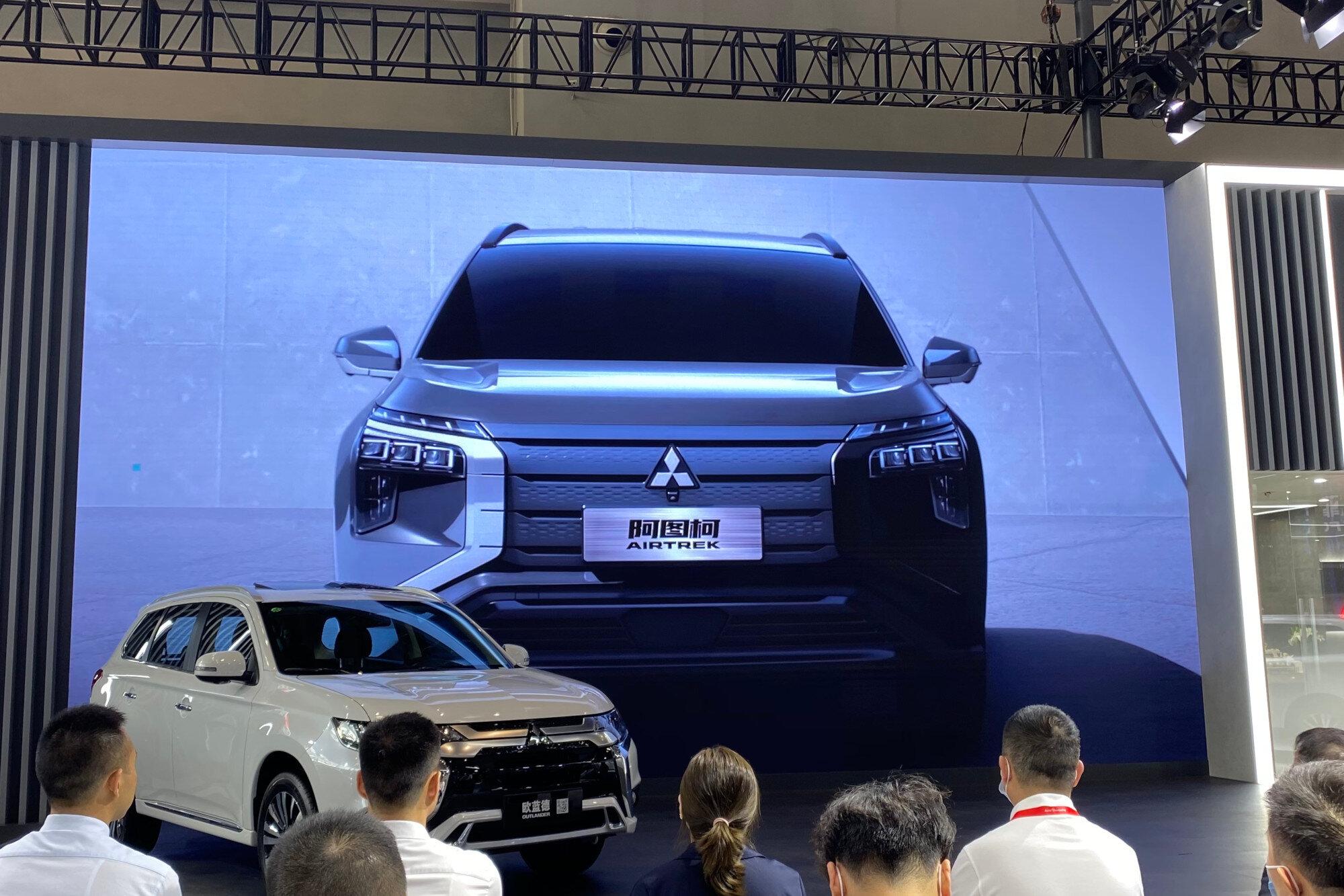 Mitsubishi показала новый кроссовер «следующей эры» Airtrek 1