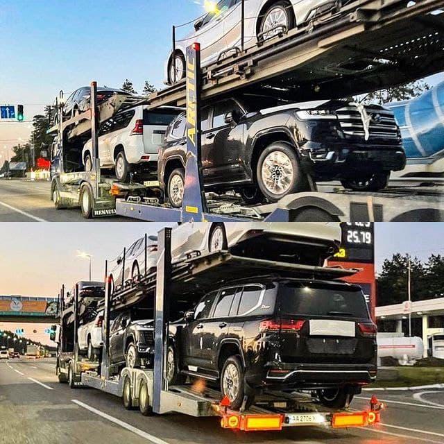 Новые Toyota Land Cruiser 300 начали завозить в Украину 1
