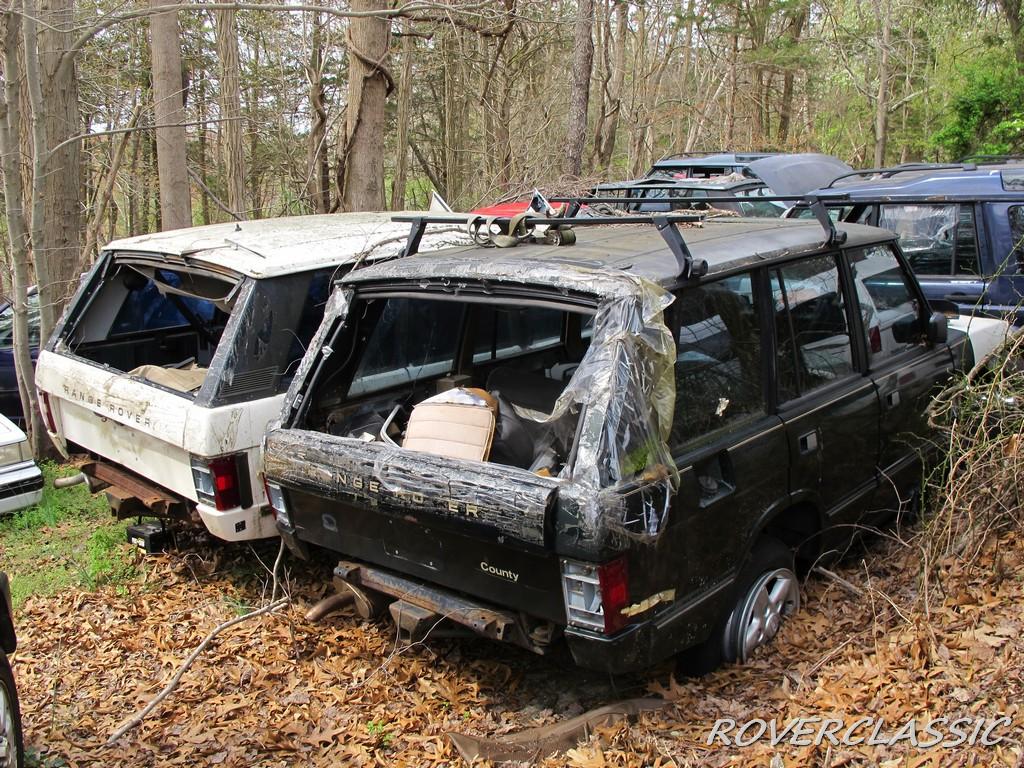 Коллекцию из 16 поросших мхом Range Rover продают по цене половины нового 2