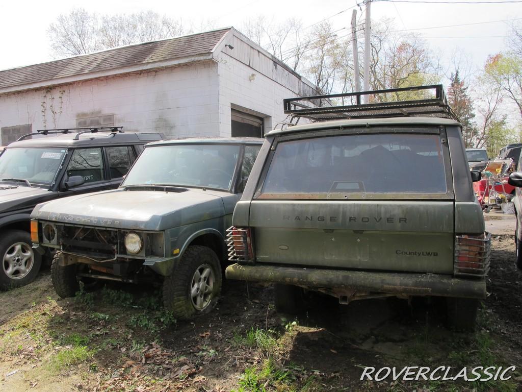 Коллекцию из 16 поросших мхом Range Rover продают по цене половины нового 1