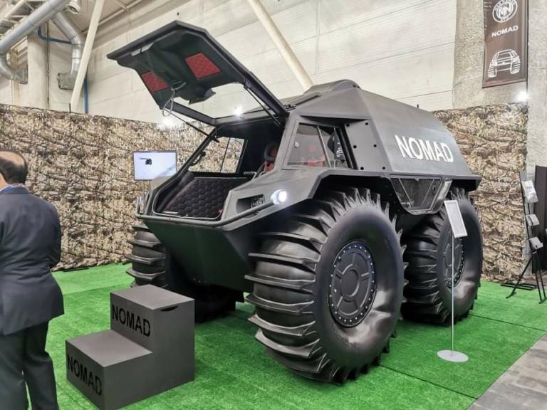 Что из себя представляет украинский вездеход NOMAD 1
