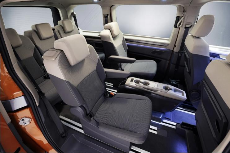 Новый Volkswagen Multivan Т7 представили официально 3