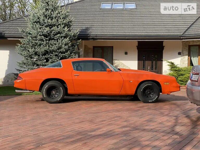 В Украине продяют культовый американский автомобиль 70-х 2