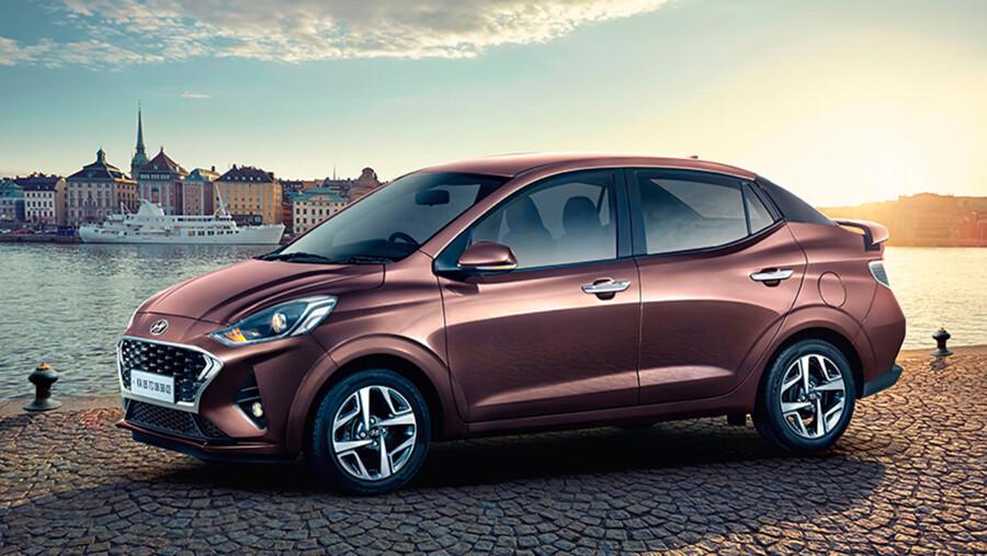 Hyundai представила ультрабюджетный седан Aura 2021  1