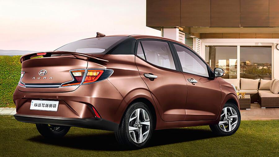 Hyundai представила ультрабюджетный седан Aura 2021  2