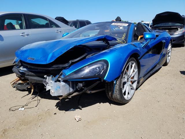 Лимитированный McLaren 600LT Spider выставили на аукцион 1