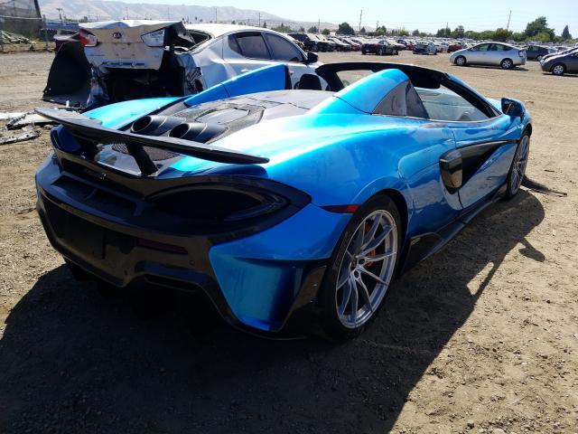 Лимитированный McLaren 600LT Spider выставили на аукцион 2