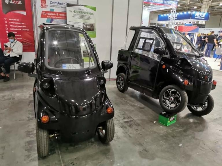 В Киеве презентовали электромобили украинского производства 1