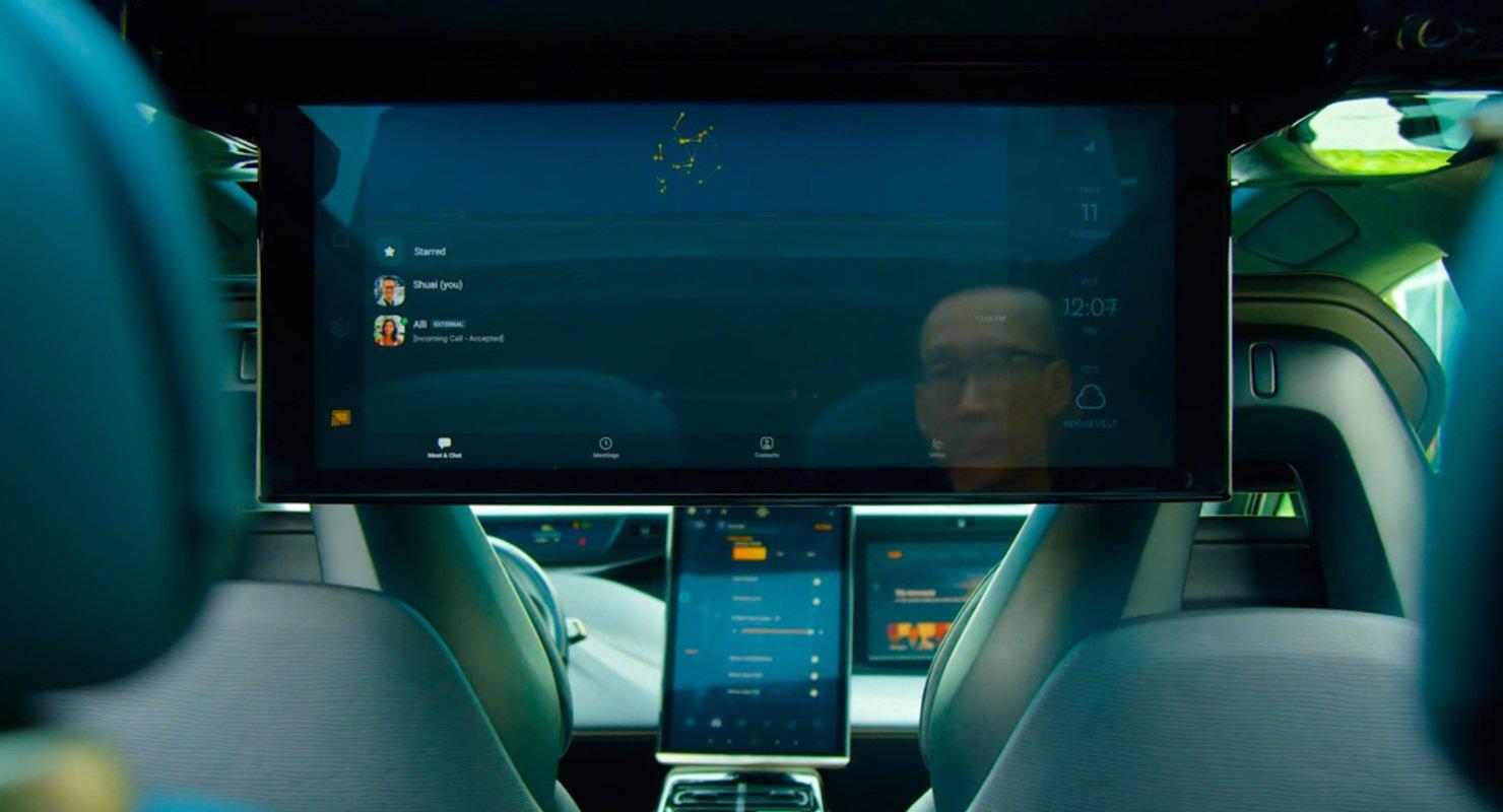 «Автомобиль будущего»: салон Faraday Futureбудет оснащен 11 дисплеями 1