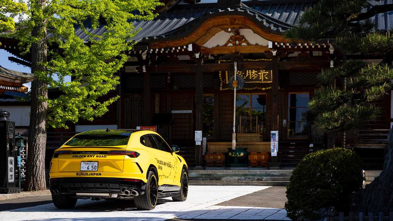 Lamborghini Urus совершил 6500-километровое путешествие по Японии 4