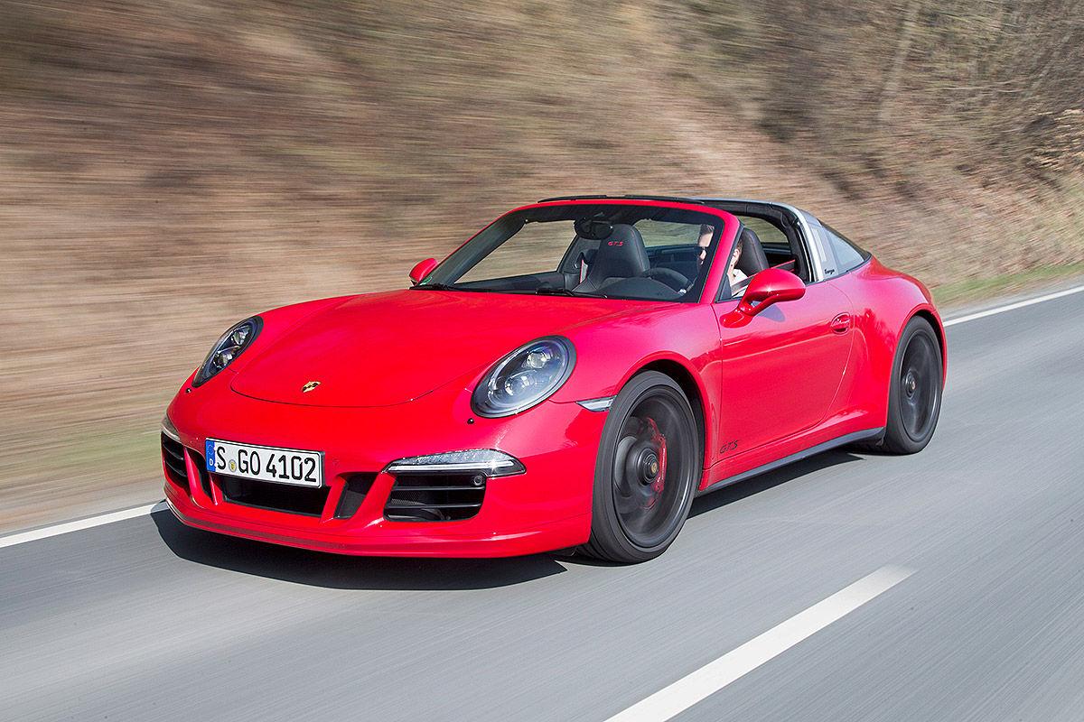 Сравнительный тест-драйв Porsche 911 Targa 4 GTS и Chevrolet Corvette Stingray 2