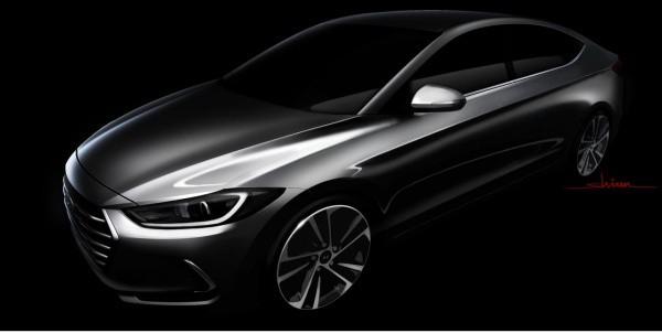 Hyundai опубликовала первый тизер новой Elantra. Что будет нового ? 1