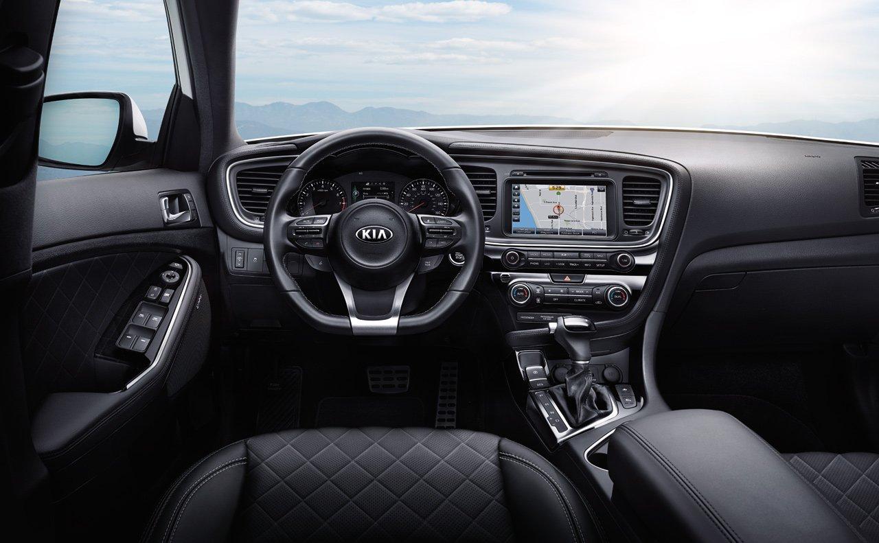 Kia Optima 2015: обзор обновленной модели 3