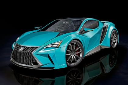 Lexus и BMW представят достойного соперника Audi R8 1