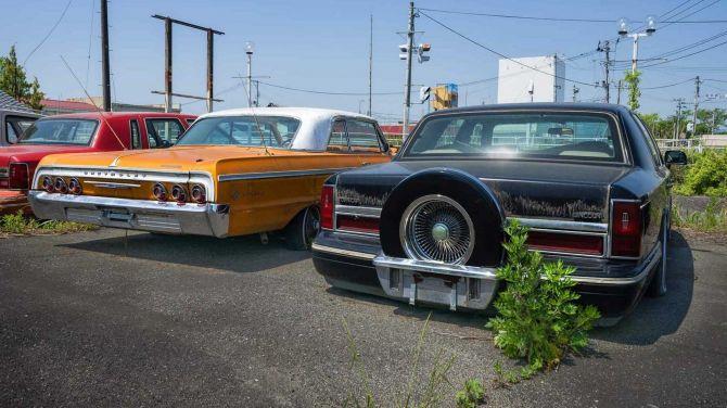 Автомобили, брошенные после аварии на «Фукусиме» (фото) 2