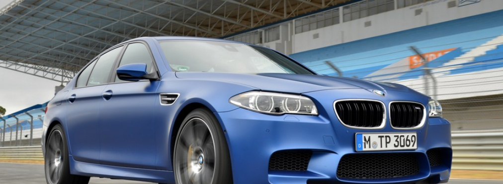 BMW M5 Competition Package 4.4 AT (575 л.с.)