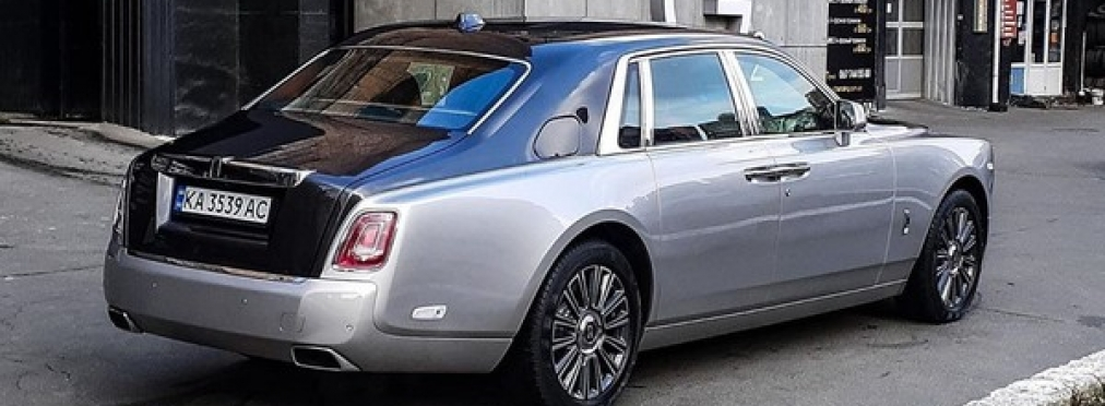 Возле дома Владимира Зеленского заметили новый Rolls-Royce Phantom